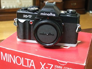 MINOLTA X-7が25年ぶりにVerUp