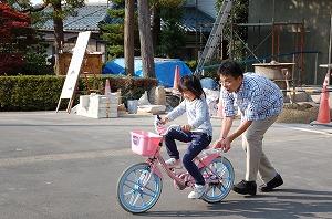 七五三と自転車に見た成長02