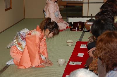 「春のお茶会と懐石膳」01