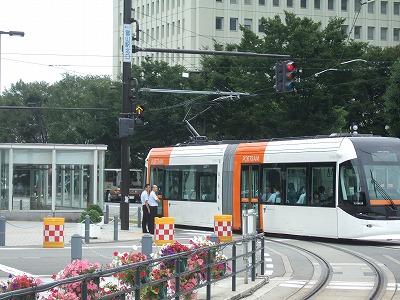 富山市:路面電車の活用が進む町09