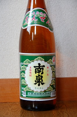 焼酎:白麹を使った南泉もなかなか美味し。