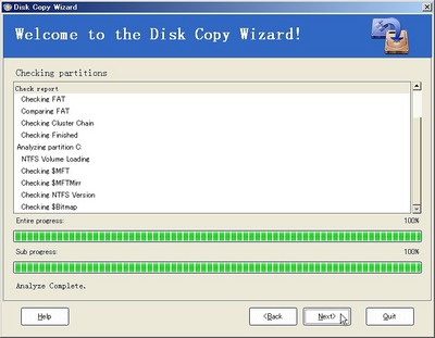 EASEUS Partition ManagerでのHDDコピー04