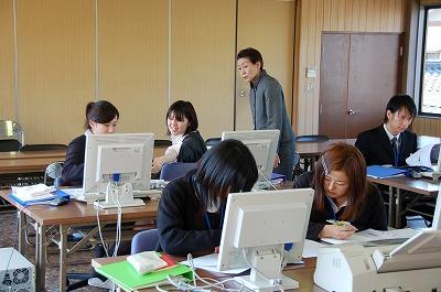 接遇の研修2009、行われる。