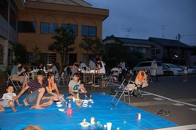 夏期恒例バーベキュー2009