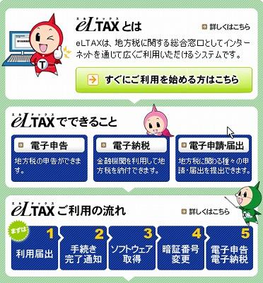 平成21年12月14日:鯖江市等に電子申告導入予定
