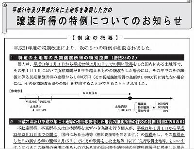 土地の先行取得の届出期限は本日3月15日