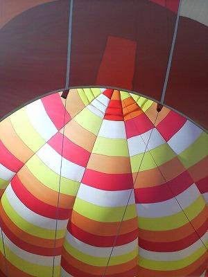 さばえ菜花まつりで、熱気球初体験(^^)v04