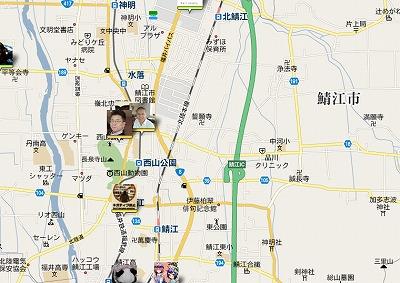 ご近所さんはいるの?TwitterMapはGoogleMap上につぶやきを表示してくれる。