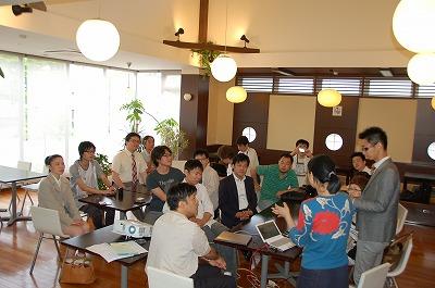 ツイッター朝活(福井)では新しい方を交えてにぎやかに開催。 #twifukui 01