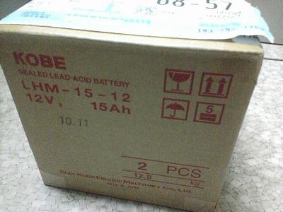 そのバッテリー、12kg。