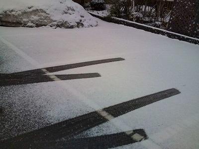 3月15日までに雪は降るものですが。
