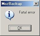バックアップソフト『MozBackup』を試してみる05