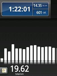 本日の走行距離、43.76�q04
