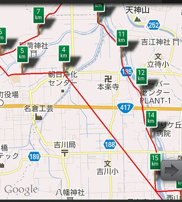 7月31日・朝のひとっ走りは道に迷う(^^ゞ02