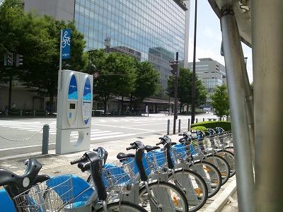 富山には路面電車に加えてレンタルバイクが導入されていた01