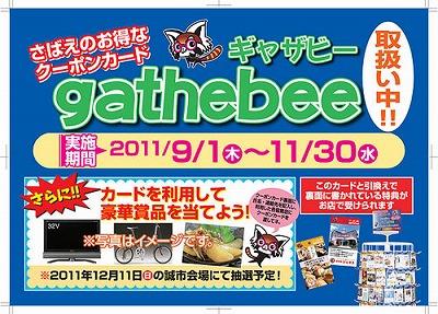 gathebeeの当選券で何を買いましょう(^^)01