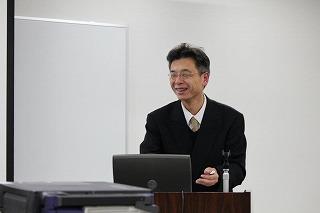 ITC福井の12月例会は川中も当番講師でした。