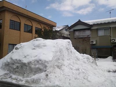 雪のけと確定申告の進捗は比例するのか?