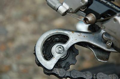 初体験、自転車後輪のチューブ交換は無事終了(^^)02