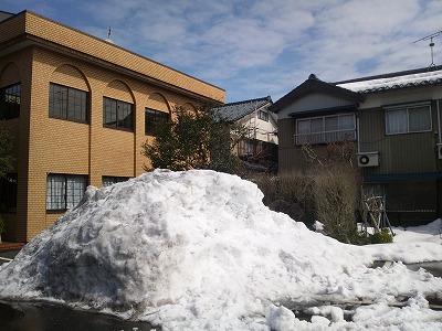 目処がつくと安心するのは確定申告、残念なのは雪かき(^^)02