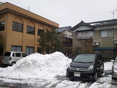 目処がつくと安心するのは確定申告、残念なのは雪かき(^^)05