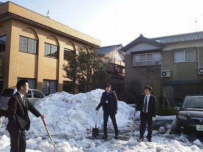 目処がつくと安心するのは確定申告、残念なのは雪かき(^^)06