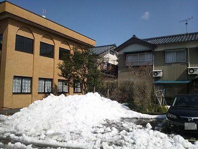 目処がつくと安心するのは確定申告、残念なのは雪かき(^^)07