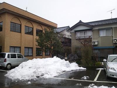 目処がつくと安心するのは確定申告、残念なのは雪かき(^^)08