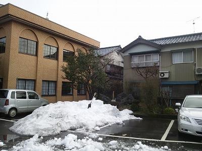目処がつくと安心するのは確定申告、残念なのは雪かき(^^)09