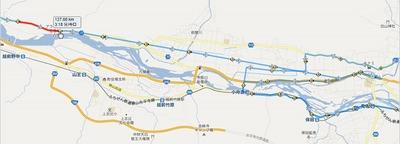 グランフォンド福井2012のコースを試走、結局何km走ったのかな?