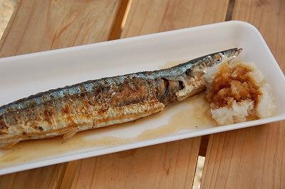 秋刀魚のわたも美味しかった誠市の『復興さんま祭』02