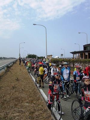 自転車のイベントは種々のフレームを見る絶好の機会01
