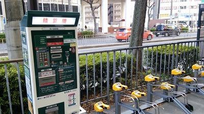 たまに研修で訪れる名古屋市千種区には自転車専用レーンが設けられていた01