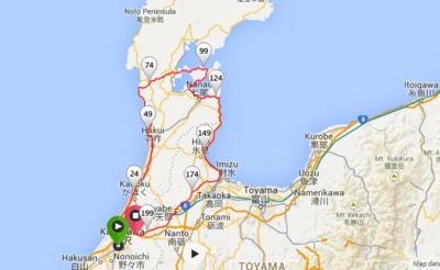 300km走るよりも大変だった200km、BRM418(近畿200km金沢)。01