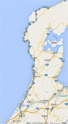 予定通りPC2でのDNFとした2015BRM530 近畿400km 金沢05