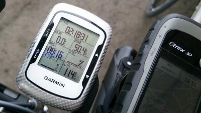 Edge500の速度表示が半分になったりしたらそれは、電池交換のサイン。2015BRM530の経験より。01