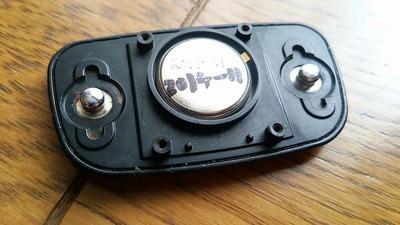 ガーミンの心拍計の電池を交換、やはり毎年この時期に交換して置くべき物ですね。
