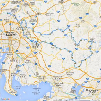 今季も初ブルベは300km:BRM409 祝 愛知県タンデム解禁(中部300)から無事生還しました。02